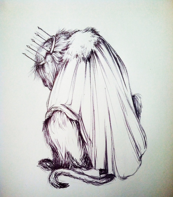 "(""Aslan"". Thursday 1/16/14. Pen.)"