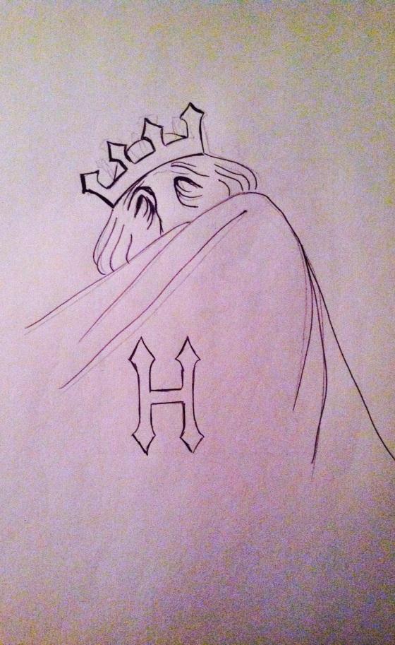 "(""Hatred"". Sunday 4/19/14. Pen.)"